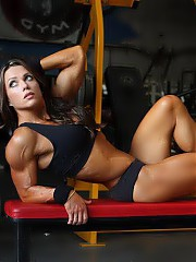 Muscular babes, fitness competitors, and sports cuties,