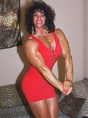 Laura Vukov a great looking woman - huge, with massive size