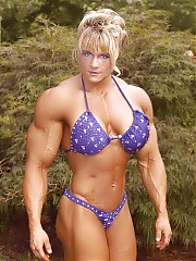Interesting collection of muscular women.