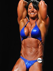John Nafpliotis' photos include all of the women in the show of the bodybuilding event