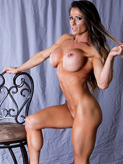 New Pictures of pro figure competitor Sheila Rock nude