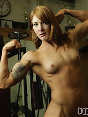 Dirty nude women bodybuilders and fitness models in hardcore muscle pumping action! Muscle models and fitness athletes in naughty adult videos featuring hardcore big clit workouts using toys and other nude women bodybuilders fingers and tongues.
