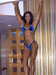 Yvette Viega combines the best elements of bodybuilding and figure