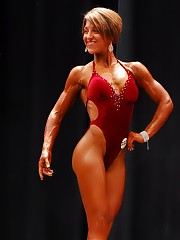 2007 US Figure Championships some very good figure muscle is shown even in the relaxed poses