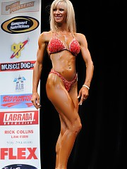 The bodybuilding and fitness events