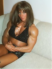 Melissa Coates is a devastating combination of lean chiseled physique  and facial beauty